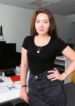 Юлия СТАШЕЛЕВСКАЯ — руководитель отдела продакшн компании 5S-Digital