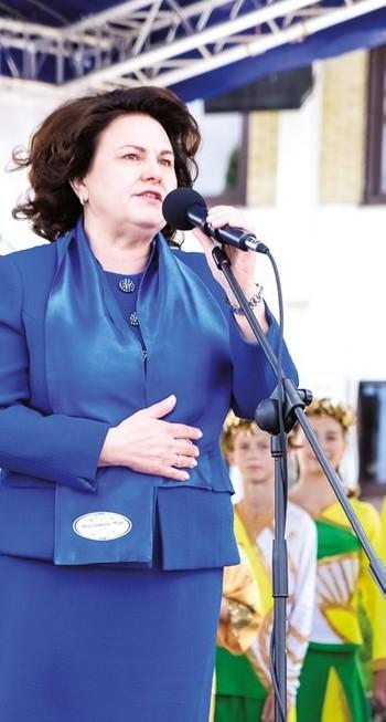 Марина Аникеева — генеральный директор ОАО «Молочный мир»