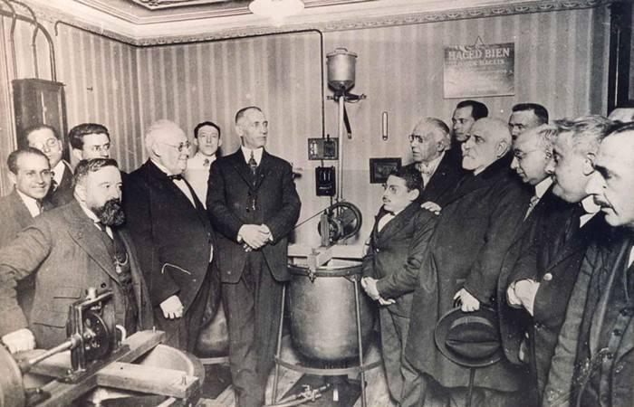 Основание компании Danone