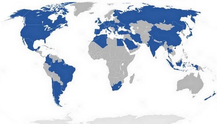 Данонн по всему миру