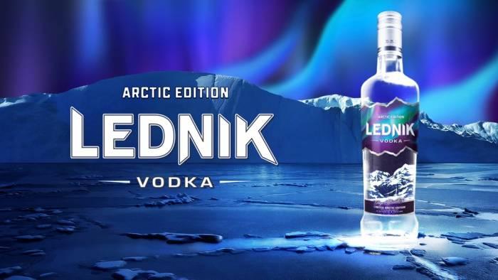 Водка Lednik