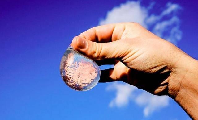 Съедобные водные пузыри