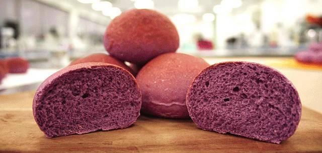 Фиолетовый хлеб