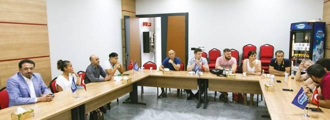 Переговоры белорусской делегации с руководством турецких компаний Gemak и Yörüksüt