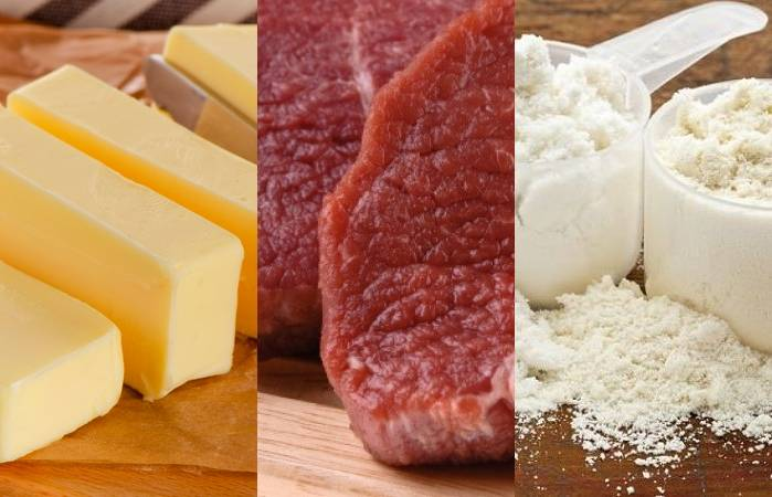Минсельхозпрод, Беларусь, повышение, экспортные цены, говядина, масло, сухое цельное молоко
