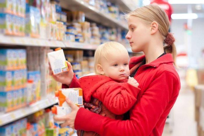 детское питание, Россия, импорт, Анна Попова, Роспотребнадзор