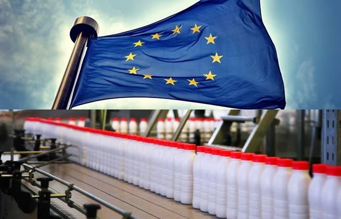 производство молока, мировая молочная индустрия, себестоимость производства молока, Евросоюз