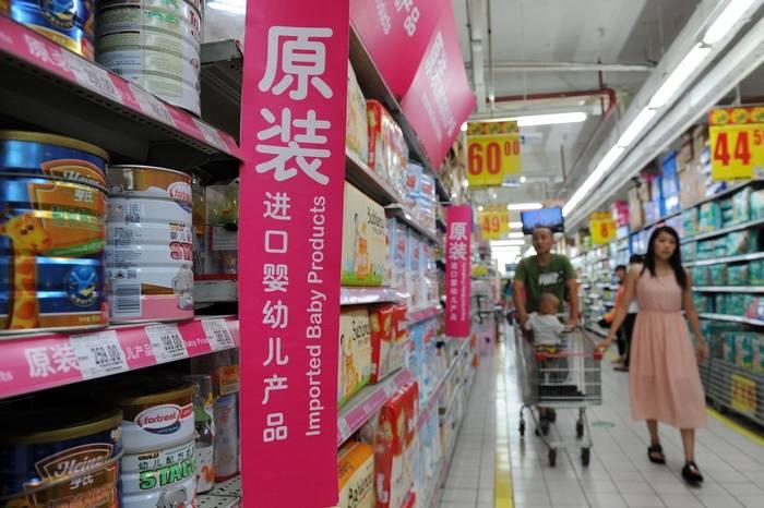 Китай, импорт