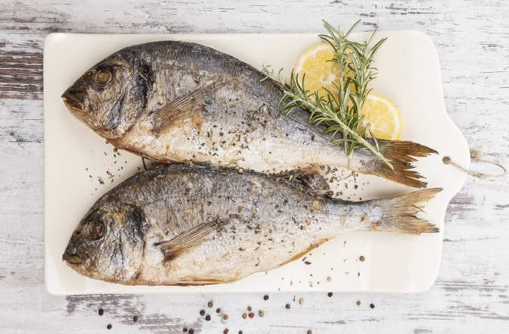 рыба, еда, замедление старения, организм