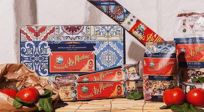 Dolce&Gabbana, фирменные макароны
