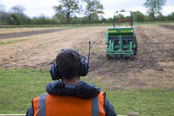 Британия, урожай, без участия человека, Hands-Free Hectare