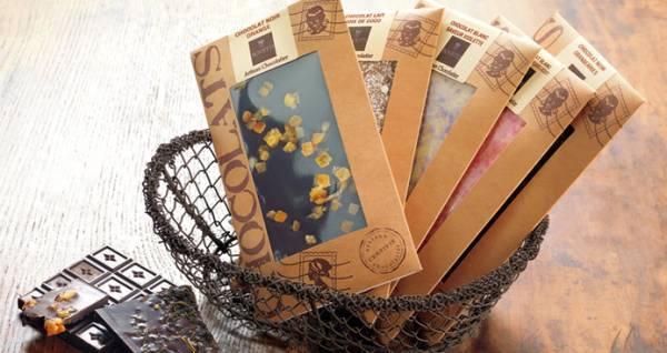 Шоколад с цветочными лепестками