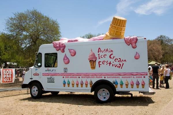 Лучший день для продавцов мороженого – воскресенье