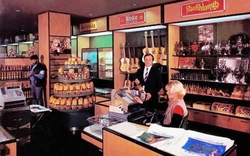 СССР, импортные продукты питания, сыр, овощные консервы, колбаса, бананы, мясо, алкогольные напитки