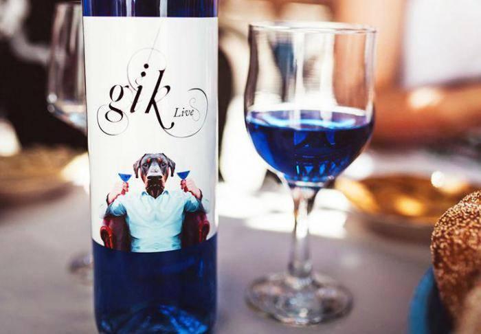 странные изобретения, пищевая промышленность, прозрачный кофе, розовый шоколад, черная вода, синее вино, голубая клубника, белый арбуз, светящиеся в темноте пончики, голубое пиво
