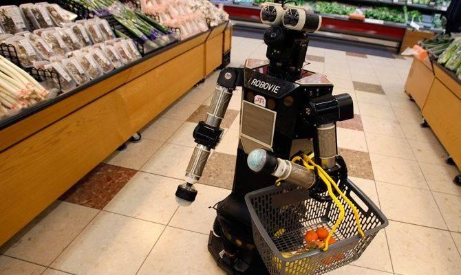 сроки годности, магазины Walmart, роботы