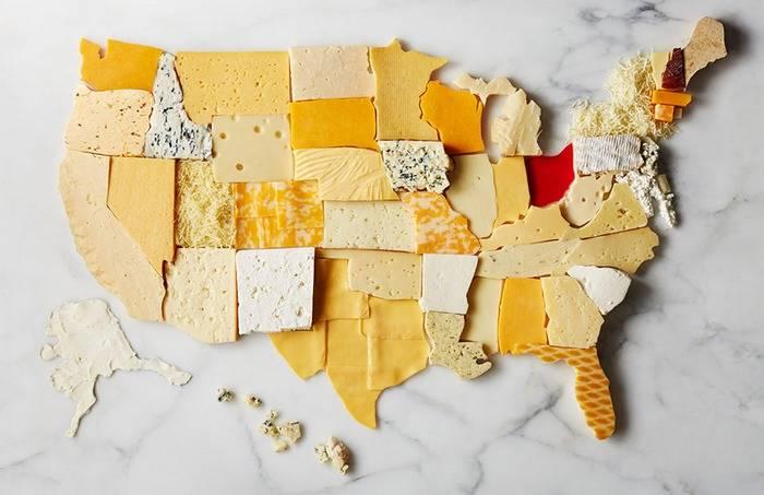 сыр, США, потребление, на душу населения
