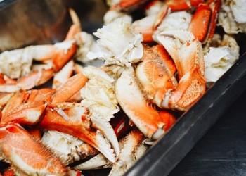 крабы, деликатесы, морепродукты