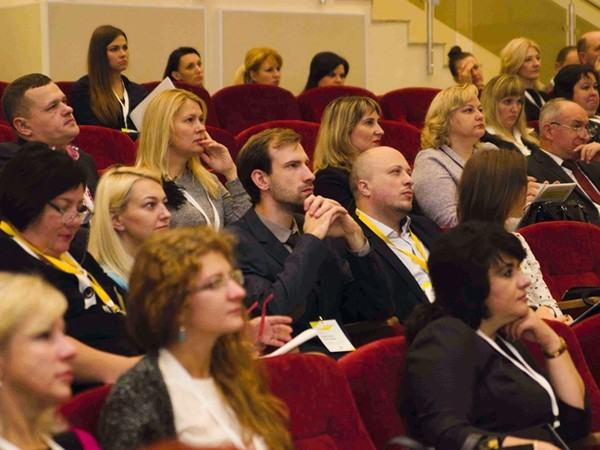 II конференция TRADE DIALOG, Виталий Брык, Екатерина Богачева, Олеся Черная, Надежда Фомина, Наталья Черник, Nielsen