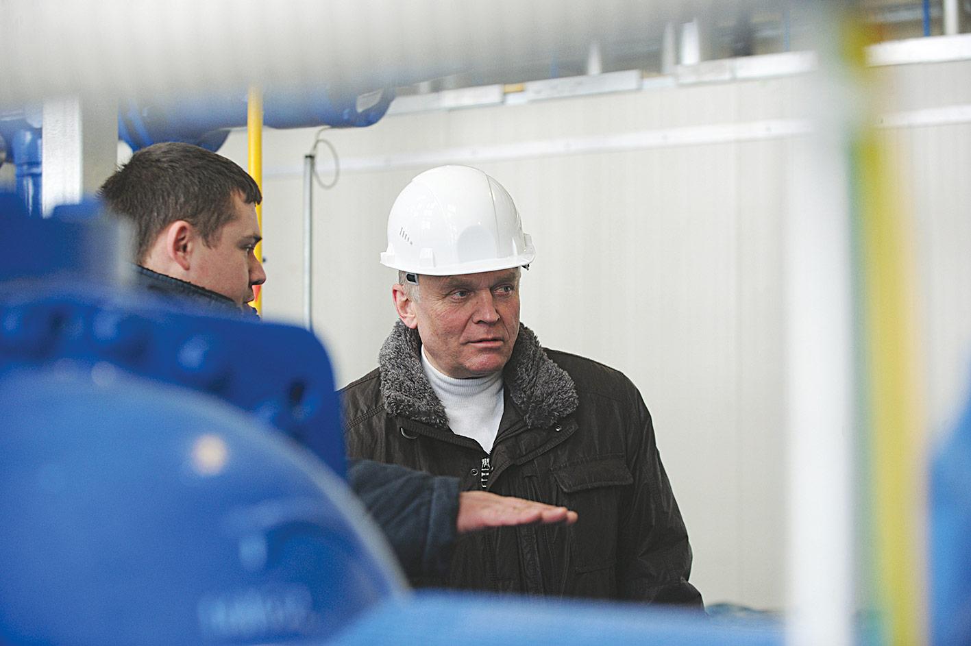 Рассказывая о холодильном оборудовании, А. Коленьков подчеркнул, что на объекте применена классическая схема...