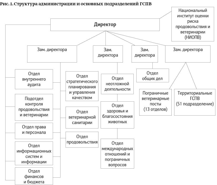 Законодательство и структура